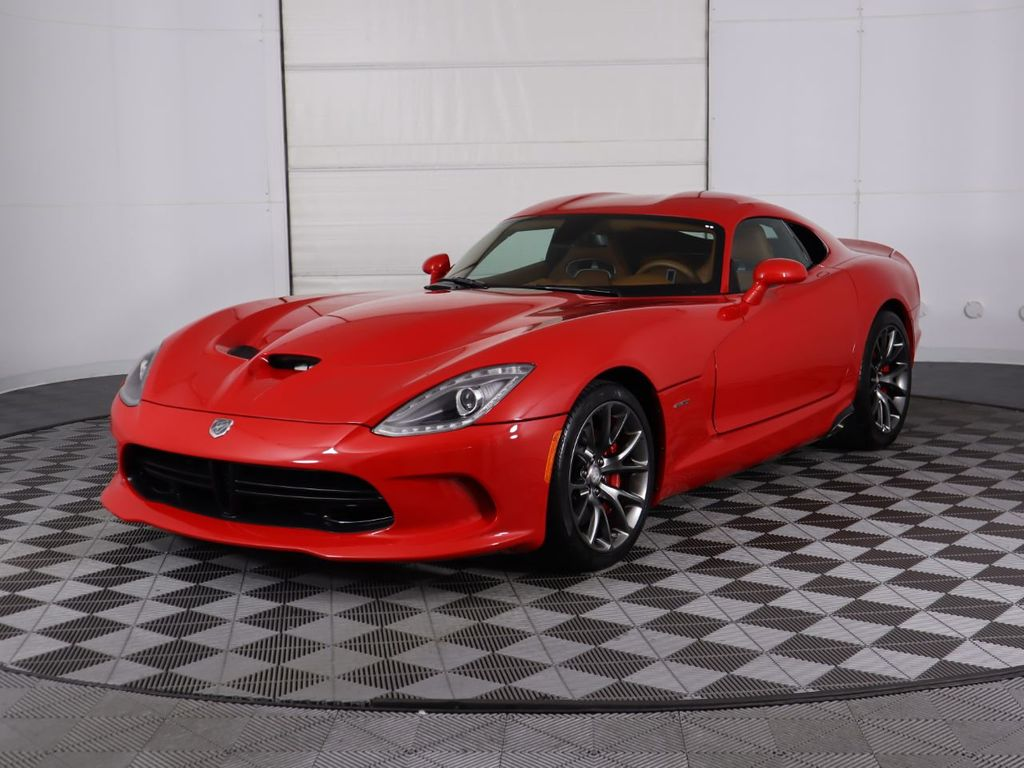 Pre-Owned 2013 Dodge SRT Viper GTS