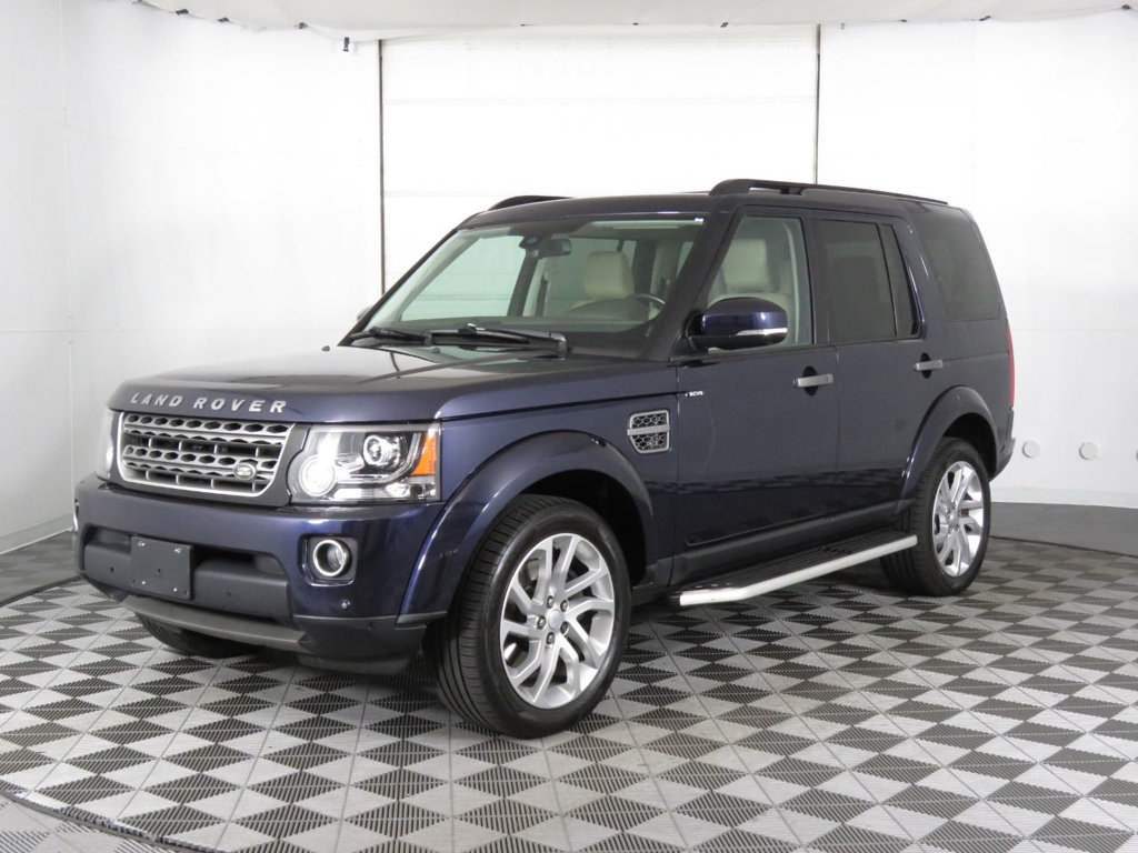 Pre-Owned 2016 Land Rover LR4 4WD 4dr