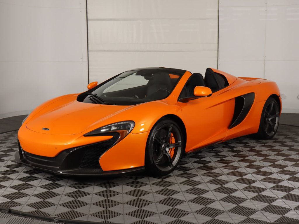 Pre-Owned 2015 McLaren 650S 2dr Convertible Spider