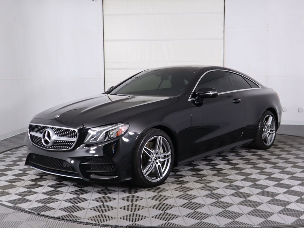 Pre-Owned 2018 Mercedes-Benz E-Class E 400 RWD Coupe