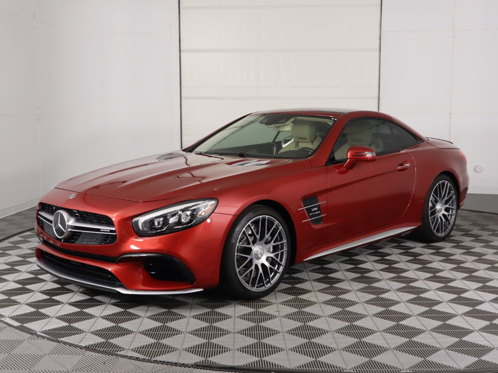Pre-Owned 2018 Mercedes-Benz SL AMG® SL 63 Roadster