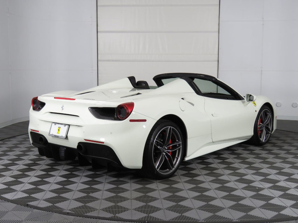 Pre-Owned 2018 Ferrari 488 Spider Convertible