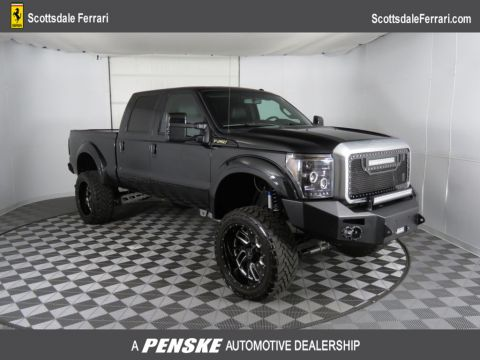 "Pre-Owned 2015 Ford Super Duty F-250 SRW 4WD Crew Cab 156"" Platinum"