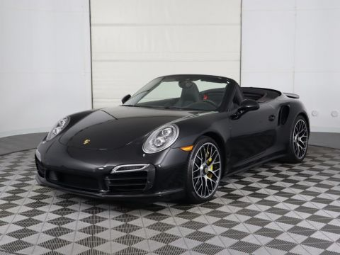 Pre-Owned 2016 Porsche 911 Turbo S Cab 2dr Cabriolet Turbo S