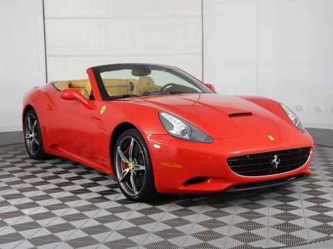 Pre-Owned 2014 Ferrari California 2dr Convertible